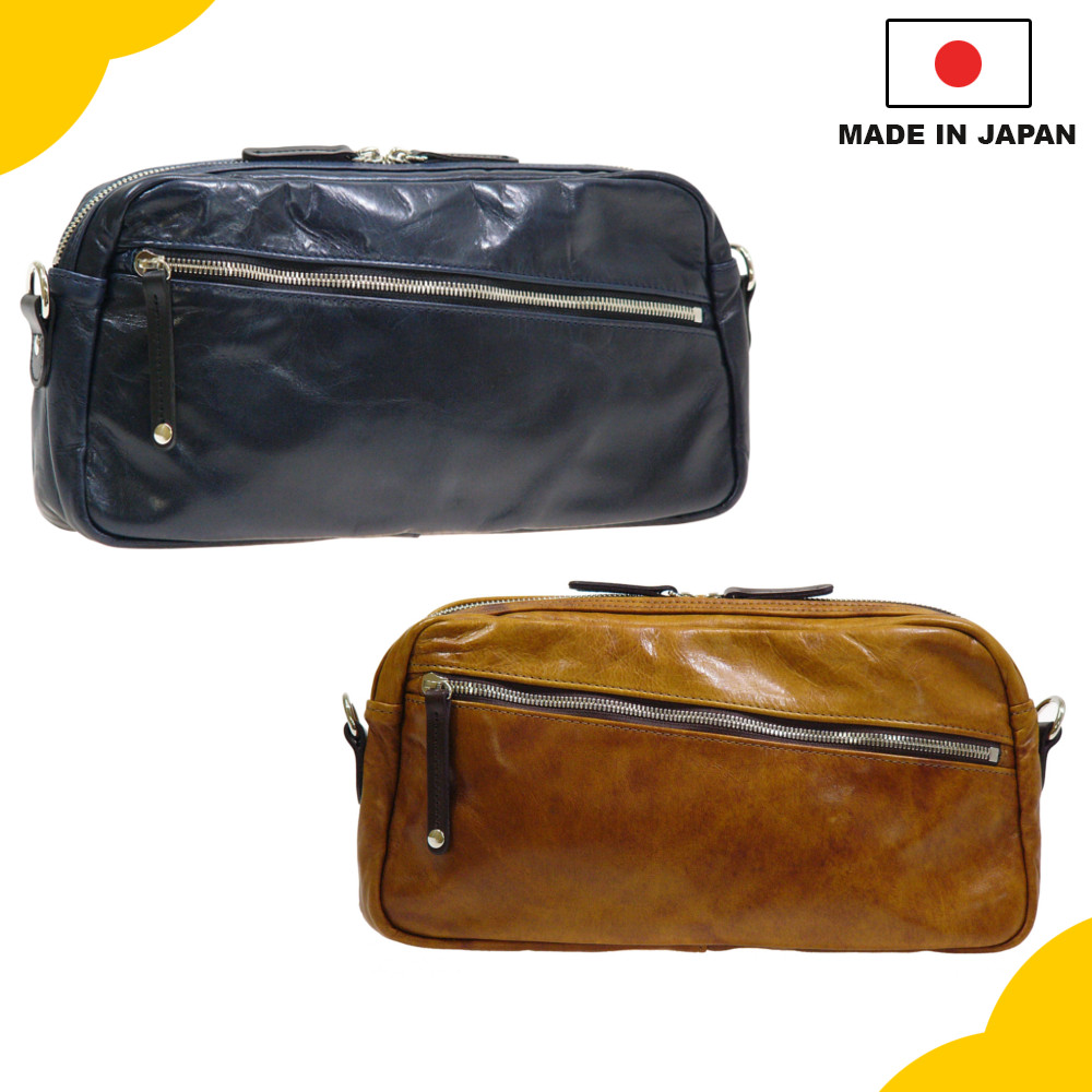 Hand-made Genuine Leather Bag made in Japan