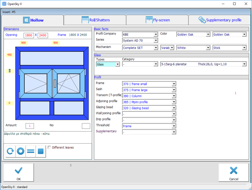 OpenSky - Design and calculation Software for doors & windows