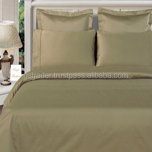 2016 newest colours 100% Egyptian Cotton bed sheet /egyptian cotton duvet cover bedding set india manufacturer