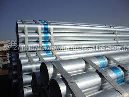 Quality Carbon Steel Welded Steel Pipe black pipe and galvanize threaded oil pipe