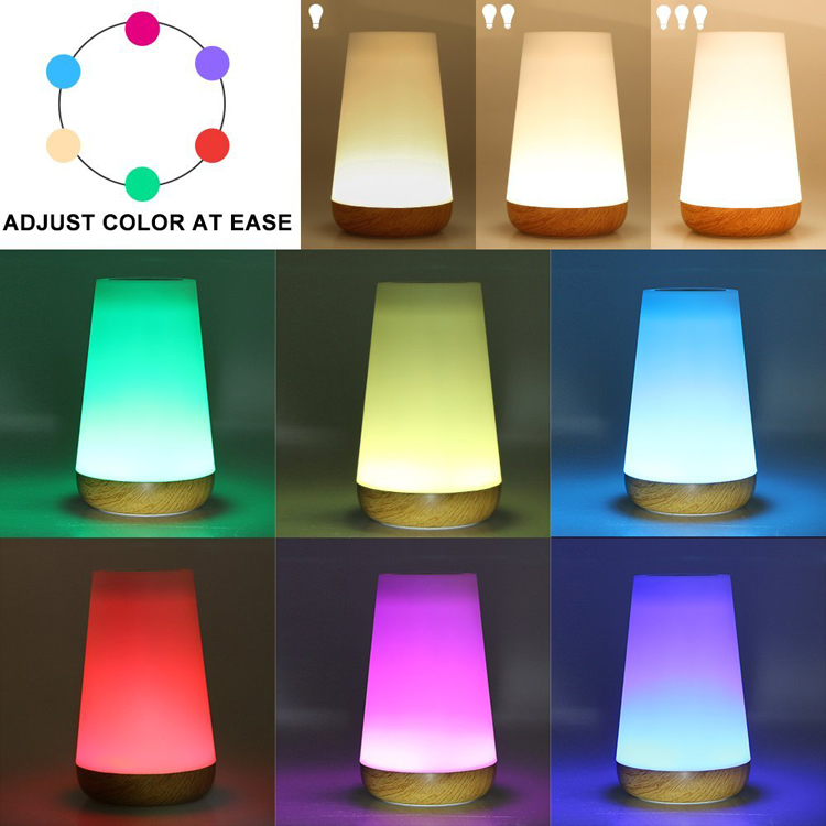 Portable Music Box dimmable smart music lamps colorful lamp