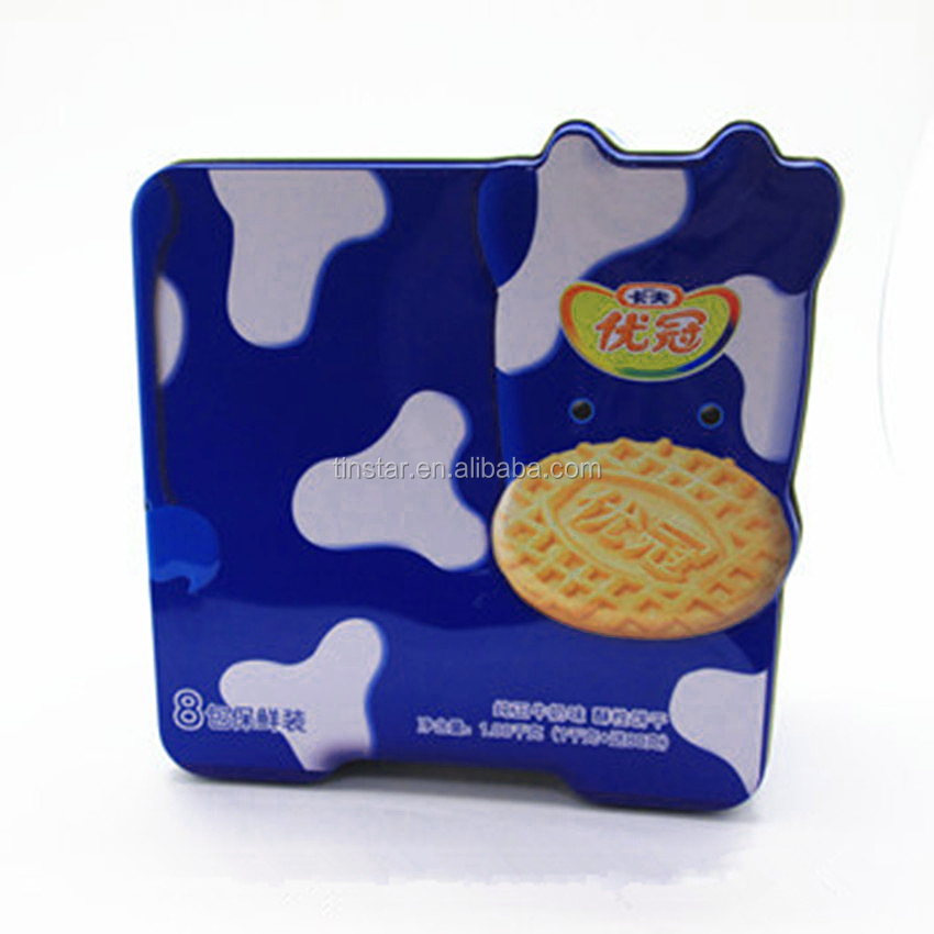 new style food grade tin cookie box