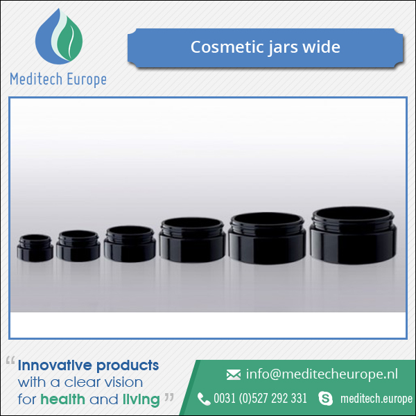 High Quality Cosmetic Jars Wide/Bulk Selling Wide Glass Cosmetic Bottle