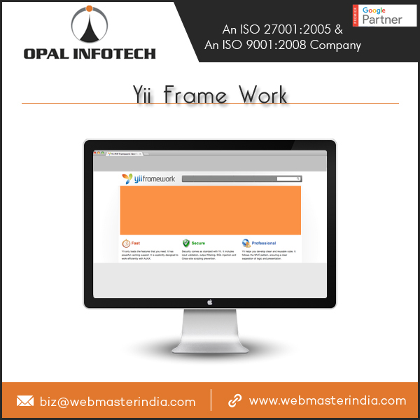 Opal Infotech Delivering Clients and Enterprises Dynamic Yii Framework Solutions