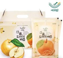 High quality organic Sangol Balloon Flower and Pear Juice