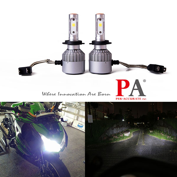 PA 2017 Hot Selling Car H7 Headlamp 60W High Power COB led scooter headlight