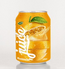 Special Muskmelon juice drink 250ml short can from VietNam-VietNam Manufacturer-OEM Fruit Juice-From Rita Brand