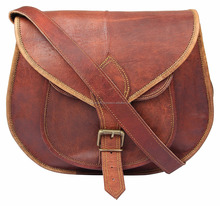 Real Leather Side Sling Bag's
