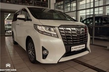 TOYOTA ALPHARD 2017 NEW LHD 3.5 EXECUTIVE LOUNGE WHITE/BLACK - EXPORT READY