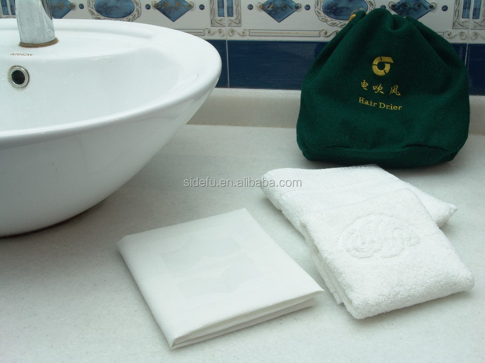 100 cotton white Hotel terry Towels sets