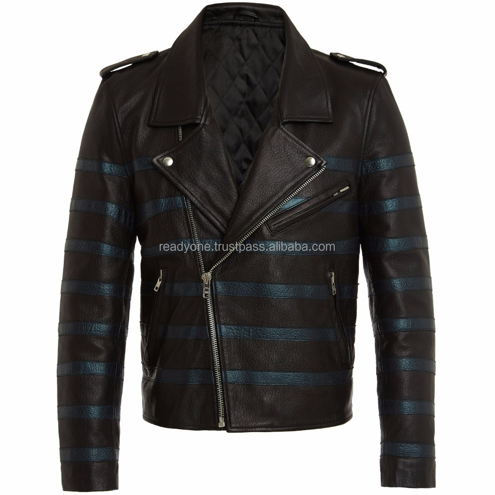Wholesale Alibaba Men's Short Welding PU Leather Jacket From Turkey