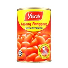 Yeo's Low Fat Canned Baked Bean in Tomato Sauce Malaysia