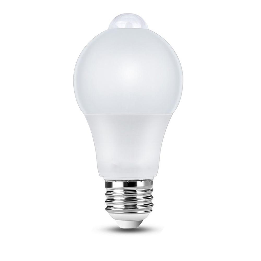 2019 Newest E26/ <strong>E27</strong>/ B22 PIR Motion Sensor bulb for Indoor and Outdoor Lighting