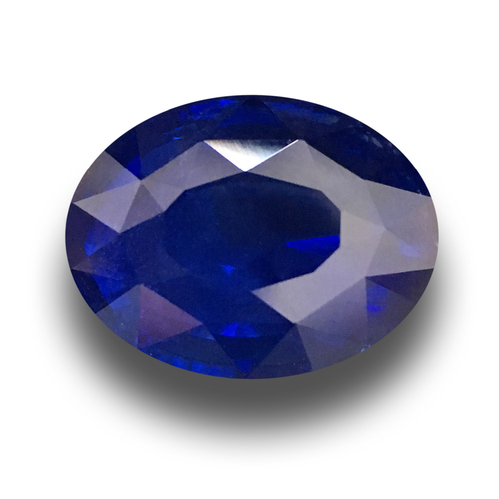 8.07 CTS | Natural Blue sapphire |Loose Gemstone|New Certified| Sri Lanka