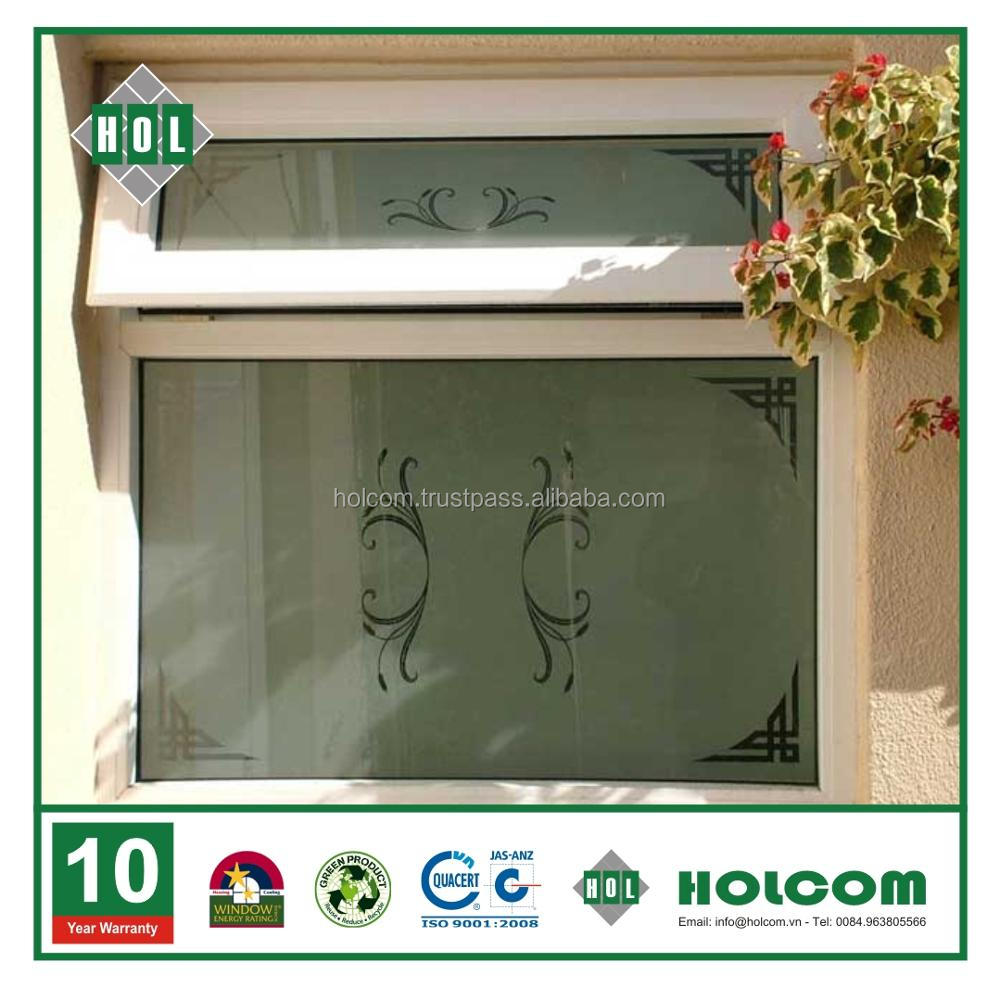 Attractive price new type top hung casement windows