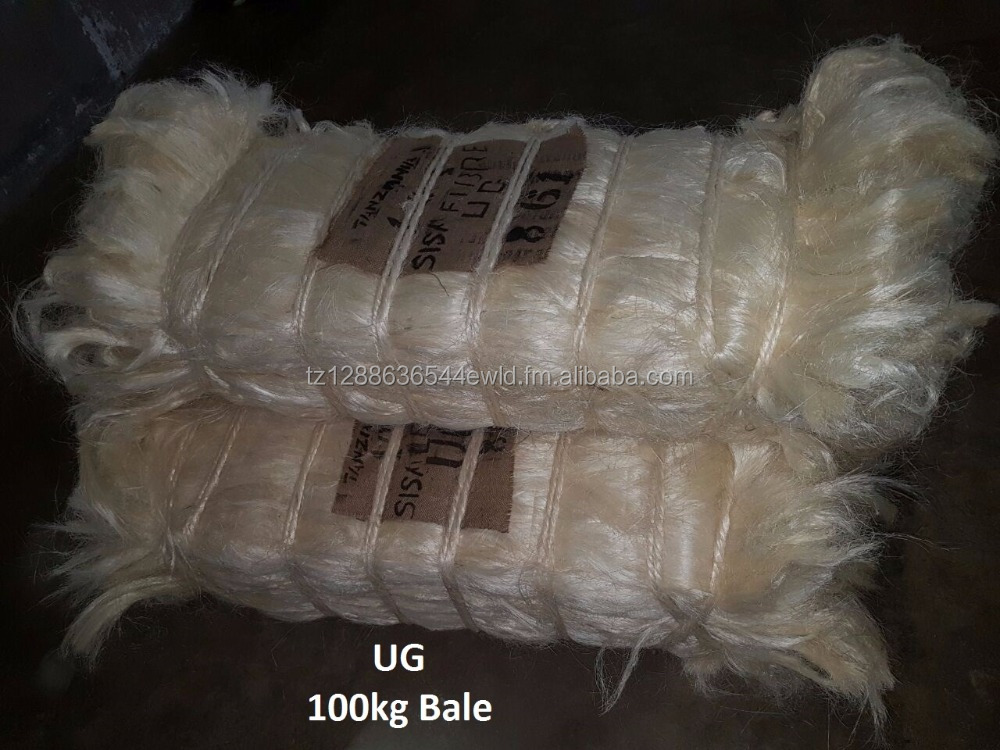 Tanzania UG, SSUG, TOW 1 Sisal Fibre (Direct from factory)