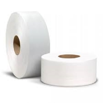 2 ply Recycled pulp toilet tissue paper on sale