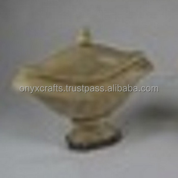 Carved Curry Dish Onyx in best price