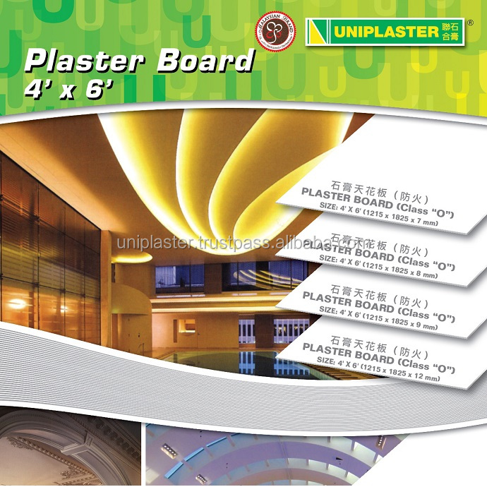 ISO Approved Plaster Ceiling Board Malaysia With High Quality