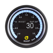 electrical OLED display digital turbo boost gauge