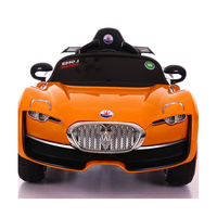 Battery operated kids car electric ride on toy car with 2.4G bluetooth RC