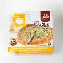 Wholesale Singapore Food Chef's Finest Triple Cheese Pizza 300g
