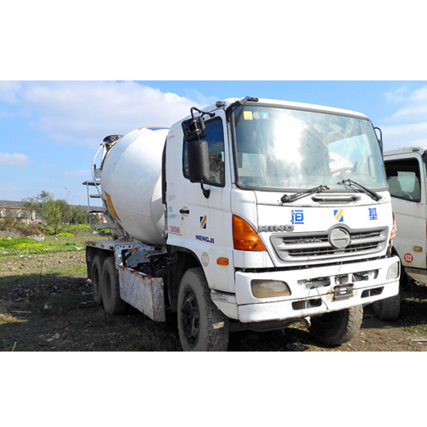 Hino 500 used mixer truck cheap price for exporting