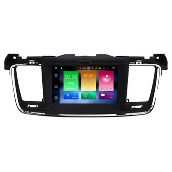 Hifimax Android 8.0 Car Multimedia GPS Navigation For Peugeot 508 Multimedia Car DVD Player With Built-in Wifi Bluetooth