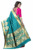 Women's Embellished Woven Art Silk Turquoise & Pink Designer Saree for Women, Suit in Every Occasion