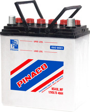 NS40 (12V - 35Ah) - Lead Acid Dry Charged Battery