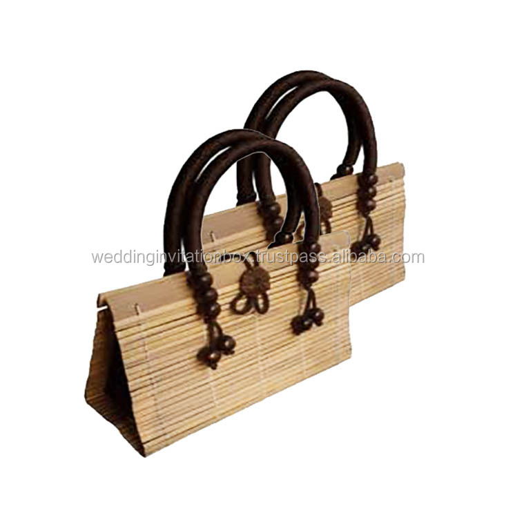 Thailand's Wholesaler Of Super Sale Bamboo Handbags