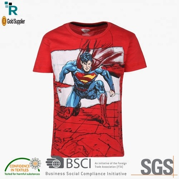 High Quality new model latest shirt designs boys kids cartoon fit t shirts tee shirts design wholesale blank 2018