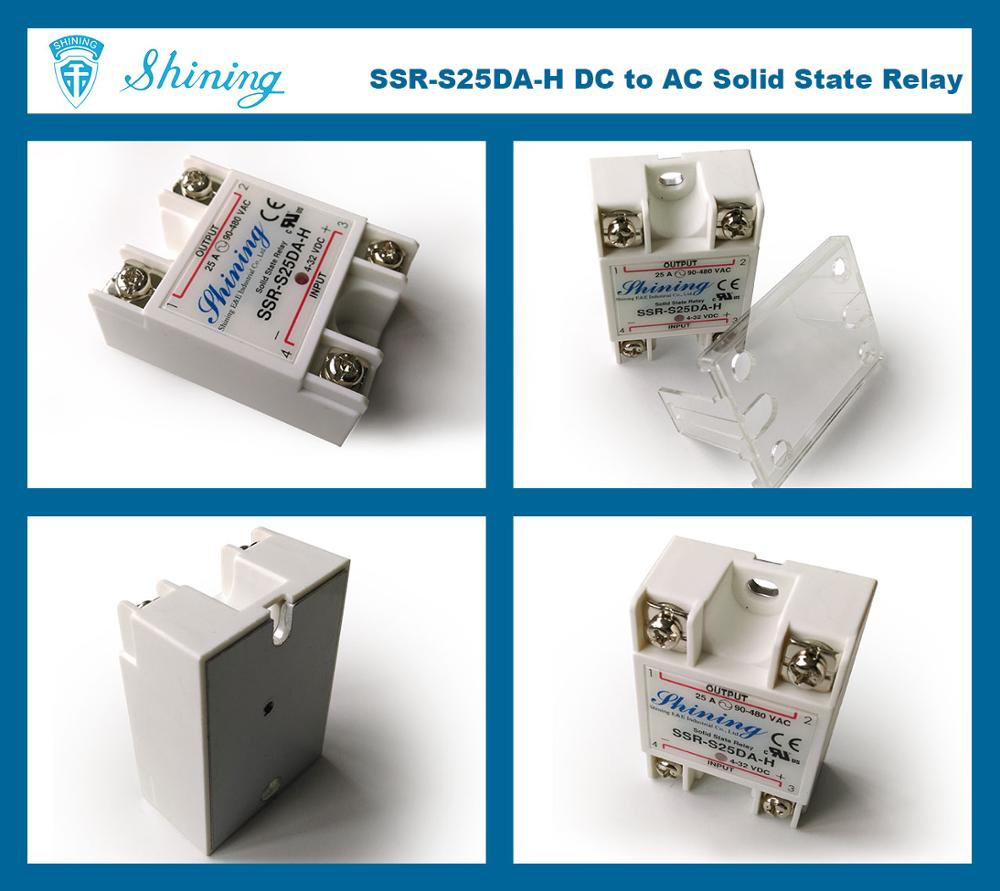 SSR-S25DA-H High Voltage Single Phase 25A DC AC Solid State Relay