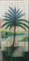 The most Deluxe bamboo hanging screen room divider Halcyon palm tree