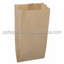 "PAPER BAG V-BOTTOM 6x3x9"" SACHET (BROWN) SUPPLIER IN PENANG MALAYSIA"