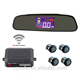 LCD display rear view mirror monitor wireless parking sensor