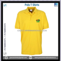 Yellow Red Black Color XL Size Mens Short Sleeve Polo T-Shirts