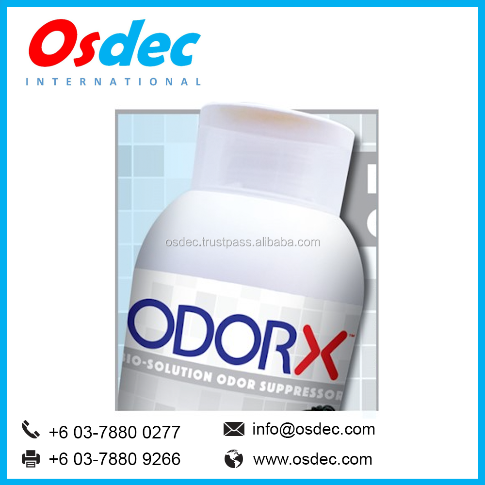 ODORX - BIO-SOLUTION ODOR REMOVER AND SUPPRESSOR CLEANING AGENT GUARANTEED TO KEEP YOUR ENVIRONMENT FRESH AND NO BAD SMELL