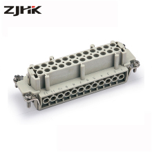 low price HE series 24 pin Heavy duty connector cable connection terminal manufacturer