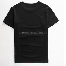 Men T-shirt Clothing Hot Products Short Sleeve Muscle Fit Plain Black