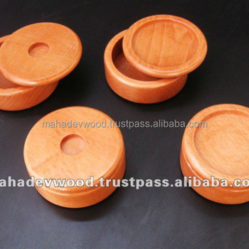Low Price Wood Shaving Bowl, Wooden Shaving Soap Bowls