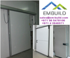 Sliding doors and Hinge doors for cold rooms, cold stores + 97156 5478106