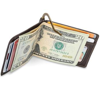 Leather Money Clip Wallet, Leather Wallet For Men