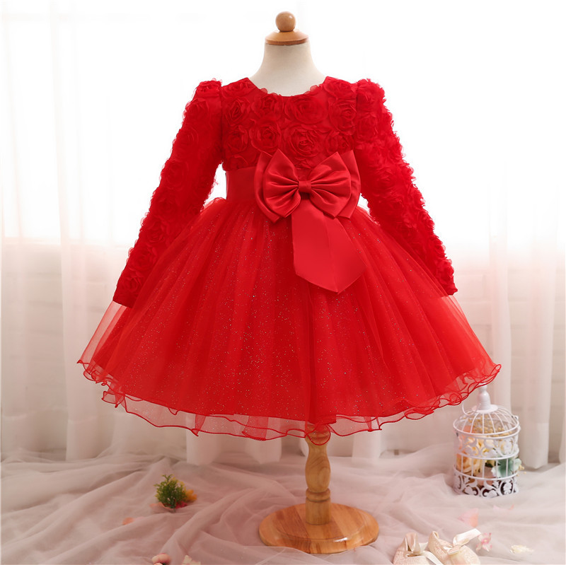 Best selling multi color personality kids girl party dress wholesale girl's dresses