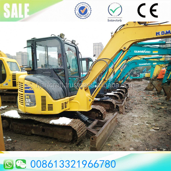 Mini crawler excavator used/secondhand japan made Komatsu PC55MR-2/PC30MR-3/PC50MR-3 available for sale