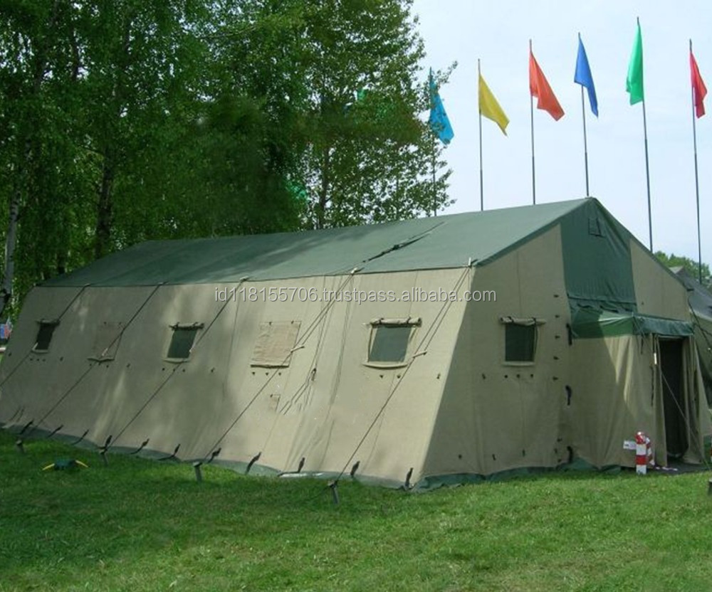 Military Tents, Army Tents, Refugee Tents, Barracks Tents, Emergency Tents, Disaster Post Tents, Hospital Tents, Kitchen Tents,
