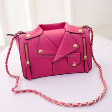 Metal Pink Original Leather Bag women