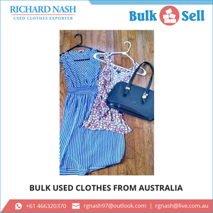 Various Types of Used Mixed Clothes from Bulk Supplier