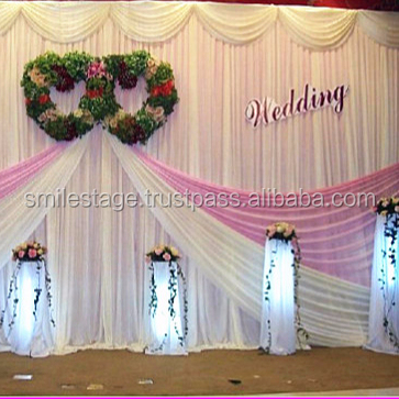 Singapore wedding backdrop stand pipe & drape road case pipe drape kits for sale