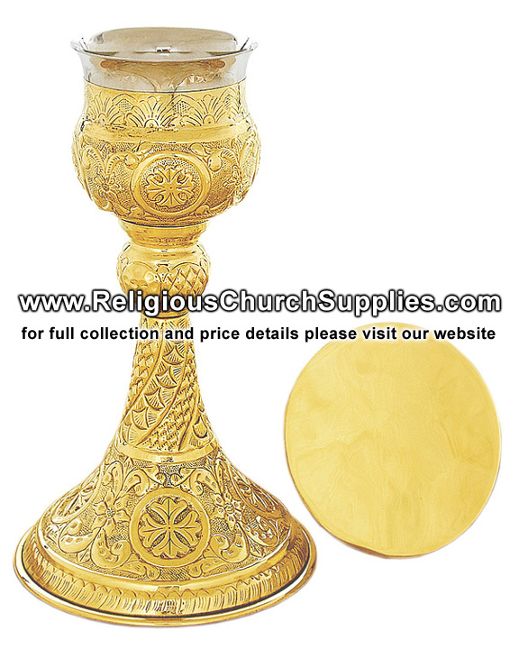 Orthodox Chalice & Paten (9 Oz.) / Chalice and Paten exporter
